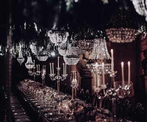 candlelight, chandelier, and lighting image