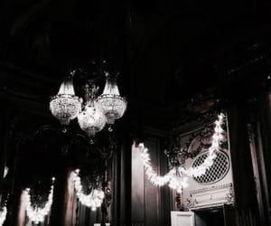 dark, architecture, and light image