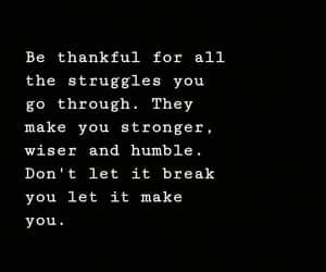break, humble, and make image