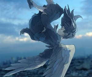 aesthetic, Ilustration, and ángel image