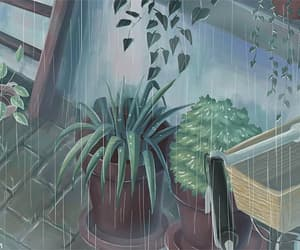 gif and lluvia image