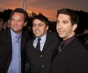 David Schwimmer, Matt LeBlanc, and Matthew Perry image