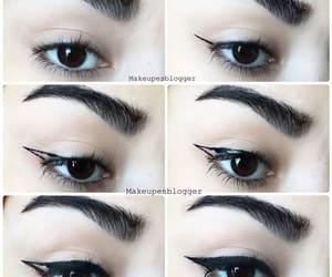 eyeliner, eyes, and tutoriel image
