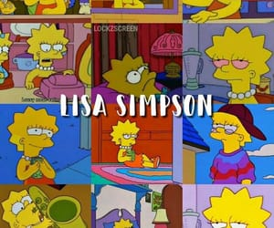 cartoon, lisa simpson, and the simpsons image