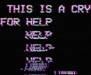 help, sad, and aesthetic image