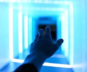 blue, aesthetic, and light image