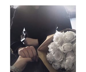 couples, flowers, and guys image