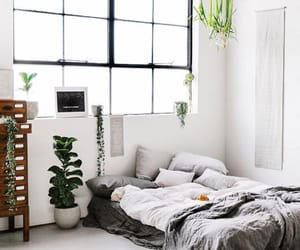 bed, design, and bedroom image