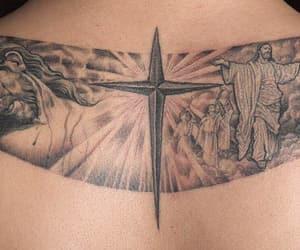 big bang, taeyang, and cross tattoo image