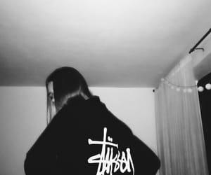 hoodie and stussy image
