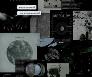 wallpaper, black, and mercury image