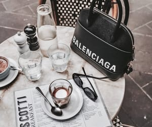 coffee, Balenciaga, and vogue image