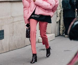 pink, fashion, and look image
