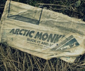 arctic monkeys and suck it and see image