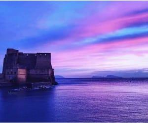 azzurro, cielo, and Naples image