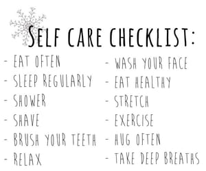 art, care, and checklist image