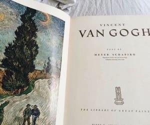 art, van gogh, and book image