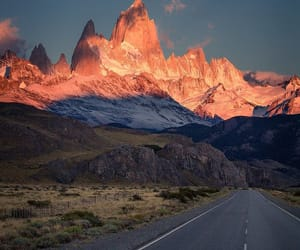 adventure, sunset, and way image