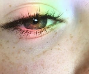 eyes and freckles image
