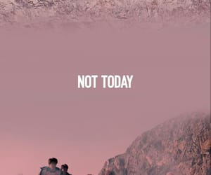 bts, jin, and not today image
