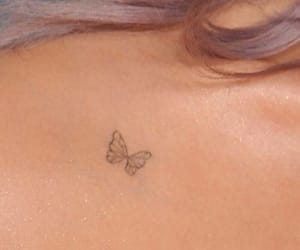 tattoo, butterfly, and pretty image