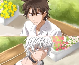 accelerator, anime, and crossover image