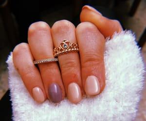 nail art, nails, and rings image