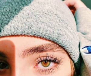 eye and girl image