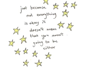 quotes, stars, and positive image
