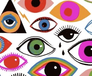 eyes and wallpaper image