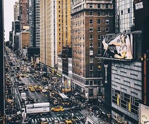 city, Dream, and new york image