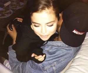 selena gomez, couple, and the weeknd image
