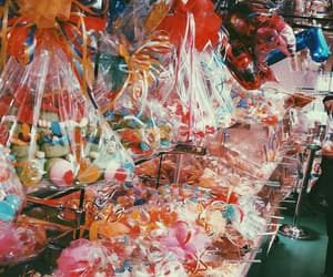 baloon, candy, and candyshop image