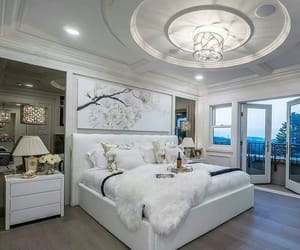 house, decor, and bedroom image