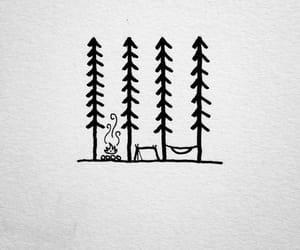 camping and drawing image