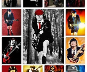 ac dc, rock, and angus young image