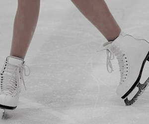 ice skating, sports, and winter image