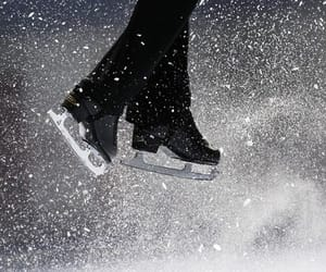 sports, winter, and ice skating image