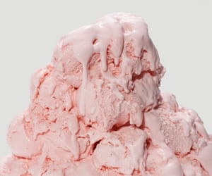 ice cream, pink, and pastel image