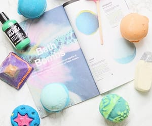 bath bombs and lush image