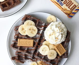 bananas, chocolate, and coffee image