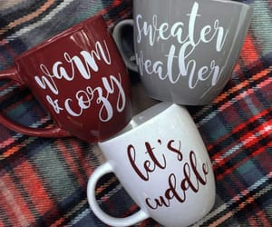 christmas, winter, and mug image