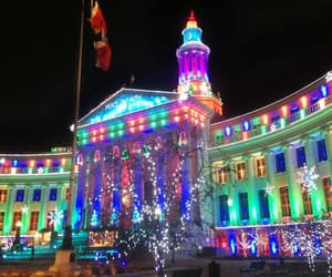 christmas, colorado, and lights image