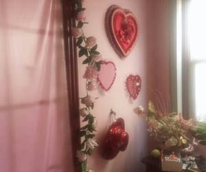 aesthetic, pink, and heart image