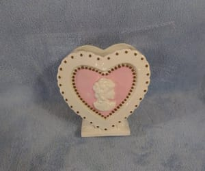 etsy, pink cameo, and valentine flower image