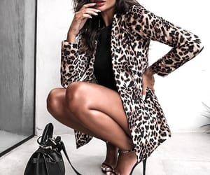 animal print, style, and bag image
