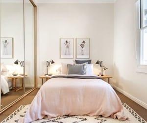 bedroom, dorm, and interior design image