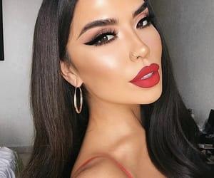 beautiful girl, eyebrows, and glow image
