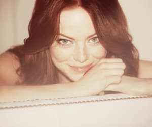 emma stone, red hair, and beauty image