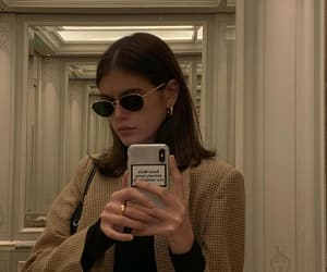 fashion, kaia gerber, and mirror image